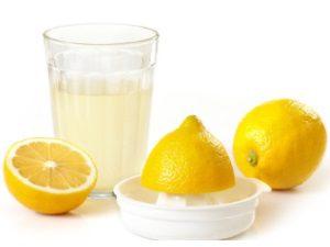 Лимонный сок для осветления родинок