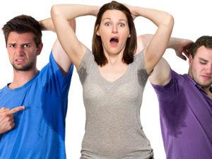 Гипергидроз - причина появления атеромы