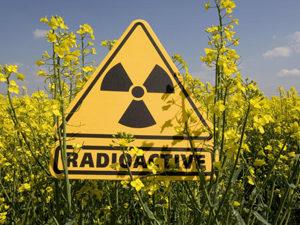 Радиация - причина появления белых точек на родинке