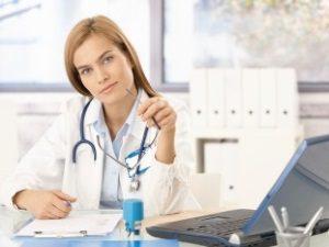 Консультация врача для лечения атеромы