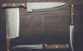Как выбрать кухонные ножи и как их точить?