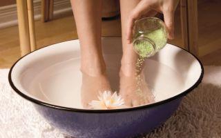 Как делаются ванночки для ног от мозолей и натоптышей?