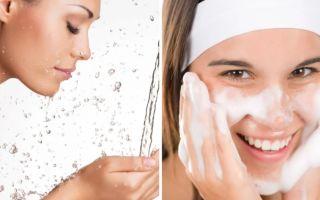 Пошаговое очищение кожи лица в домашних условиях