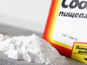 Сода для лечения мозолей