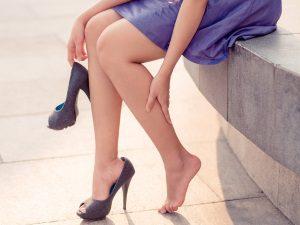 Неудобная обувь - причина появления мозолей