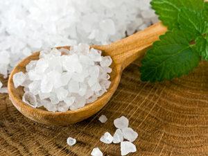 Морская соль для лечения мозолей