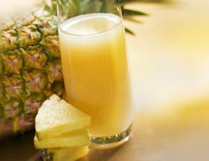 удаление родинки с помощью сока ананаса